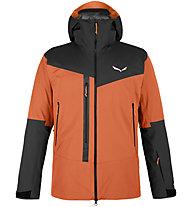 Salewa Sella Responsive - giacca hardshell con cappuccio - uomo, Orange/Black