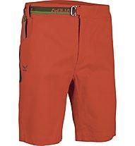 Salewa Magic Wood - pantaloni corti arrampicata - uomo, Indio