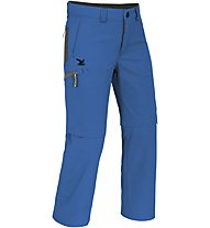 Salewa Mira DRY Zip-Off Hose Kinder, Azures