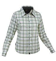 Salewa Molignon PL W L/S Shirt Camicia a maniche lunghe trekking Donna, Tender Pine