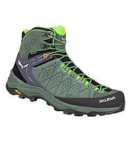 Salewa Ms Alp Trainer 2 Mid GTX - Trekkingschuh - Herren, Green/Black
