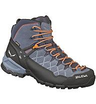 Salewa Alp Trainer Mid GTX - scarpe da trekking - uomo, Blue/Orange