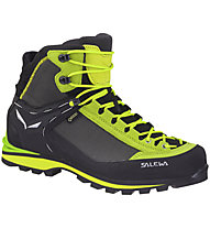 Salewa Ms Crow GTX - scarponi alta quota alpinismo - uomo, Grey/Green