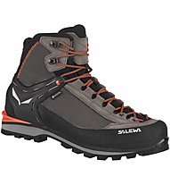 Salewa Ms Crow GTX - scarponi alta quota alpinismo - uomo, Brown/Black/Red