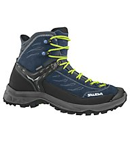 Salewa MS Hike Trainer Mid GTX - scarpe da trekking - uomo, Blue/Grey