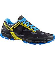 Salewa Lite Train - scarpe trail running - uomo, Black/Blue
