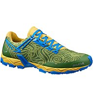 Salewa Lite Train - Trailrunningschuh - Herren, Yellow/Green
