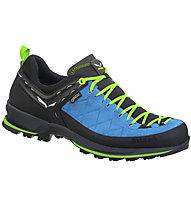 Salewa MS Mtn Trainer 2 GTX - scarpe trekking - uomo, Light Blue/Green