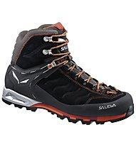 Salewa MS MTN Trainer Mid GORE-TEX Scarpe da trekking, Black/Indio