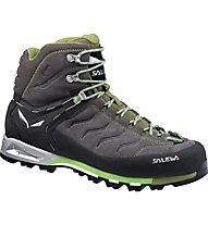 Salewa MS MTN Trainer Mid GORE-TEX Scarpe da trekking, Pewter/Emerald