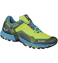 Salewa Speed Beat GORE-TEX - Trailrunning- und Speed Hikingschuh - Herren, Green/Light Blue