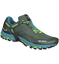 Salewa Speed Beat GORE-TEX - Trailrunning- und Speed Hikingschuh - Herren, Dark Green/Light Blue