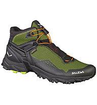 Salewa Ultra Flex Mid - GORE-TEX Trailrunningschuh - Herren, Black/Green