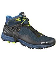 Salewa Ultra Flex Mid - GORE-TEX Trailrunningschuh - Herren, Blue/Yellow