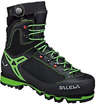 Salewa Vultur Vertical GTX - scarponi alta quota alpinismo - uomo, Black/Green
