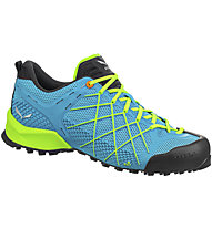 Salewa Wildfire - Zustiegsschuh - Herren, Light Blue/Green