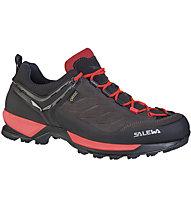 Salewa Mtn Trainer GTX - scarpe da avvicinamento - donna, Black/Red