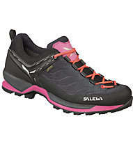 Salewa Mtn Trainer GTX - scarpe da avvicinamento - donna, Black/Pink
