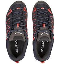 Salewa MTN Trainer Lite - Wanderschuh - Damen, Dark Blue/Red