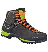 Salewa Mtn Trainer Mid GTX - scarpe da trekking - uomo, Dark Brown