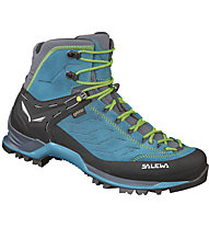 Salewa Trainer Mid GTX - Wander- und Trekkingschuh - Herren, Light Blue/Green