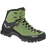 Salewa Mtn Trainer Mid GTX - scarpe da trekking - uomo, Green