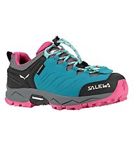 Salewa Trainer Waterproof - Wander- und Trekkingschuh - Kinder, Green/Pink