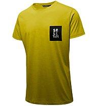 Salewa Nidaba Dri-Rel - T-shirt trekking - uomo, Yellow