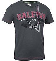 Salewa Nispero T-Shirt Baumwolle Kinder, Carbon