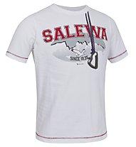 Salewa Nispero T-Shirt Baumwolle Kinder, White