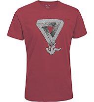 Salewa Ocus Pocus T-Shirt arrampicata, Framboise