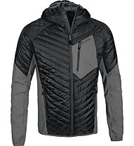 Salewa Ortler giacca ibrida PrimaLoft, Black Out