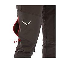 Salewa Ortles 2 - Pantaloni lunghi softshell alpinismo - uomo, Black