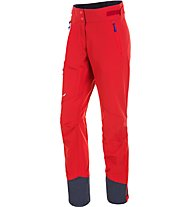 Salewa Ortles 2 - pantaloni lunghi softshell - donna, Red