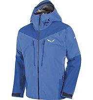Salewa Ortles 2 GORE-TEX Pro Jacket Herren Hardshelljacke mit Kapuze, Blue