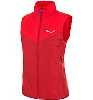 Salewa Ortles 2 - gilet in pile trekking - donna, Red