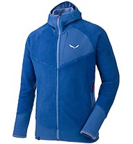 Salewa Ortles 2 Highloft - Fleecejacke mit Kapuze - Herren, Light Blue
