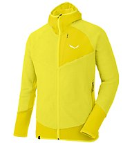 Salewa Ortles 2 Highloft - Fleecejacke mit Kapuze - Herren, Yellow
