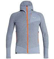 Salewa Ortles 2 Highloft - Fleecejacke mit Kapuze - Herren, Grey