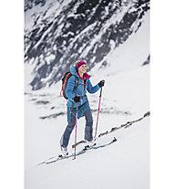 Salewa Ortles 2 WS/DST W Reg - pantaloni sci alpinismo - donna, Blue