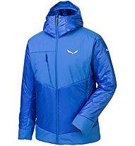 Salewa Ortles 3 Prl - giacca con cappuccio - uomo, Blue