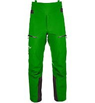 Salewa Ortles 4 GTX Pro - pantaloni hardshell - uomo, Green
