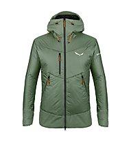 Salewa Ortles Awp - giacca sci alpinismo - uomo, Dark Green/Black