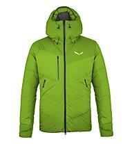 "Salewa Ortles ""Heavy"" 2 Ptx/Dwn - giacca in piuma - uomo, Green/Green"