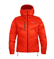 "Salewa Ortles ""Heavy"" - giacca in piuma - uomo, Red"