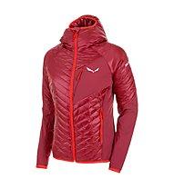 Salewa Ortles Hybrid 2 - giacca ibrida - donna, Dark Red