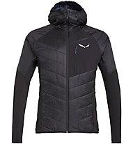 Salewa Ortles Hybrid TW CLT - giacca con cappuccio - uomo, Black