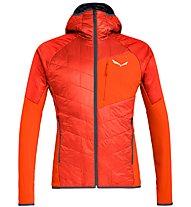Salewa Ortles Hybrid TW CLT - giacca con cappuccio - uomo, Red