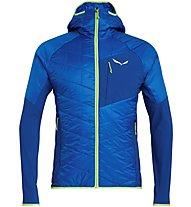Salewa Ortles Hybrid TW CLT - giacca con cappuccio - uomo, Light Blue