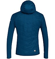 Salewa Ortles Hybrid TW CLT - giacca con cappuccio - uomo, Dark Blue/Yellow